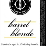 River North Brewery To Release Barrel Blonde September 13th