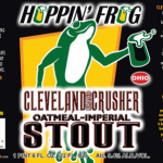 Hoppin' Frog Releases Cleveland Crusher Imperial Stout TODAY