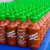 L.A. Sriracha Festival Commemorative Sriracha Bottles - Photo Credit Bernie Wire