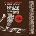 New Belgium & Perennial Brew Salted Belgian Chocolate Stout