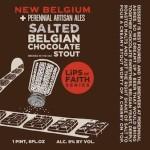 New Belgium Perennial Artisan Ales Salted Belgian Chocolate Stout