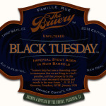 The Bruery: Rum Barrel Aged Black Tuesday, Roble Blanco + Wineification II