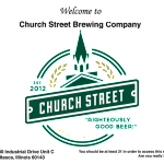 Church Street Brewing Expands Distribution To  Western Illionois