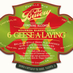 The Bruery Bourbon Barrel Aged Six Geese A Laying