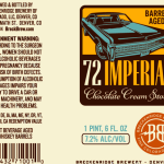 Breckenridge Barrel Aged 72 Imperial Hits Wide Distribution