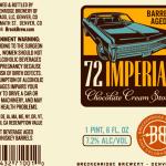 Breckenridge Barrel Aged 72 Imperial