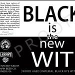 Terrapin Beer Co. / New Belgium Brewing - Black is the new Wit