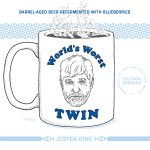 Jester King Evil Twin Worlds Worst Twin
