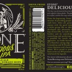 Stone Brewing Co. Releases Gluten Friendly Stone Delicious IPA 1/5/15