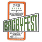 Inaugural BAGBYFEST – March 28, 2015
