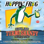 Hoppin' Frog Bourbon Barrel-Aged Turbo Shandy Returns Tuesday!