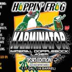 Hoppin' Frog Karminator Imperial Dopplebock Aged In Port Barrels Release Info