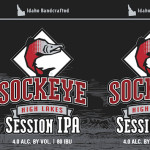 Sockeye High Lakes Session IPA Can Label