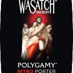 Wasatch Brewery Bottles Polygamy Nitro Porter