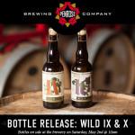 Penrose Brewing Wild IX & Wild X Bottle Release May 2, 2015