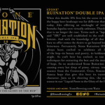 Stone Brewing Co. Introduces Ruination Double IPA 2.0