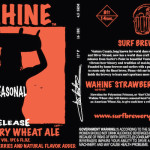 Surf Brewery Releases Strawberry Wahine Wheat Ale For Summertime