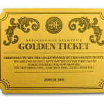 Breckenridge Brewery Releases 50 Golden Tickets for Very First Tours of its New Brewery