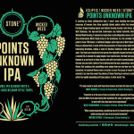 Stone / Ecliptic / Wicked Weed Points Unknown IPA