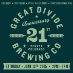 Great Divide Brewing Celebrates 21st Anniversary Party With Party & Expansion