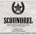 City Star Brewing Scoundrel Release June 13, 2015