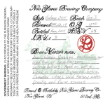 New Glarus R&D Gueuze Vintage 2014 Release Details