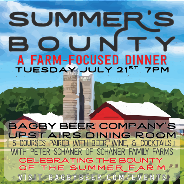 Bagby Beer - Summer's Bounty