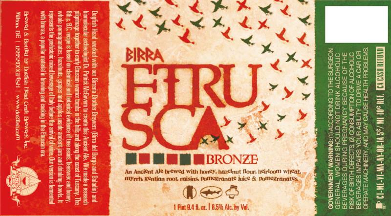 Dogfish Head Birra Etrusca Bronze