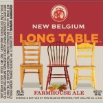 New Belgium Brewing Introduces Long Table Farmhouse Ale