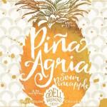 Odell Piña Agria Sour Pineapple