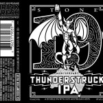 Dear @mybeerbuzz, You Don't Own The Stone 19th Anniversary Thunderstruck IPA Labels