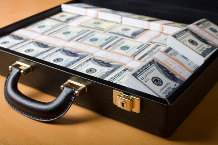 Briefcase of Money