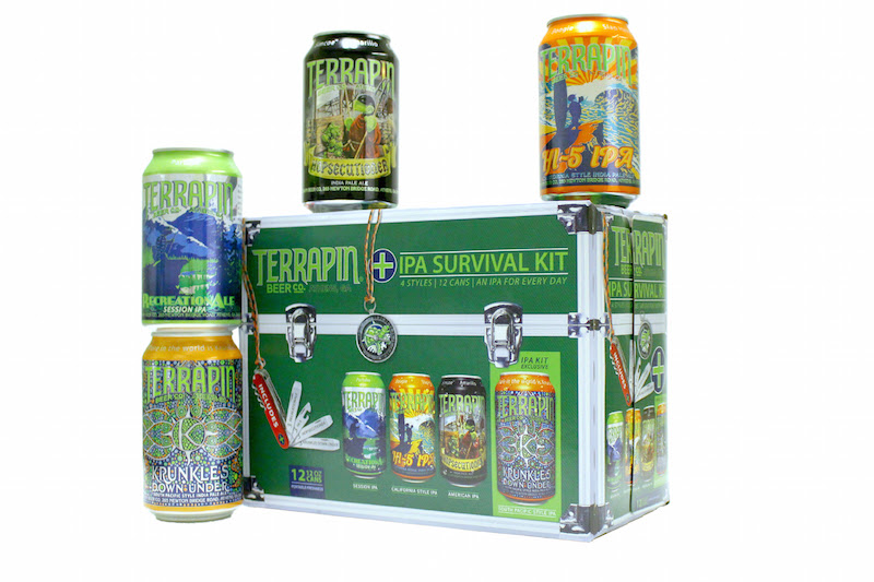 Terrapin beer co introduces the ipa survival kit for Best craft beer kit