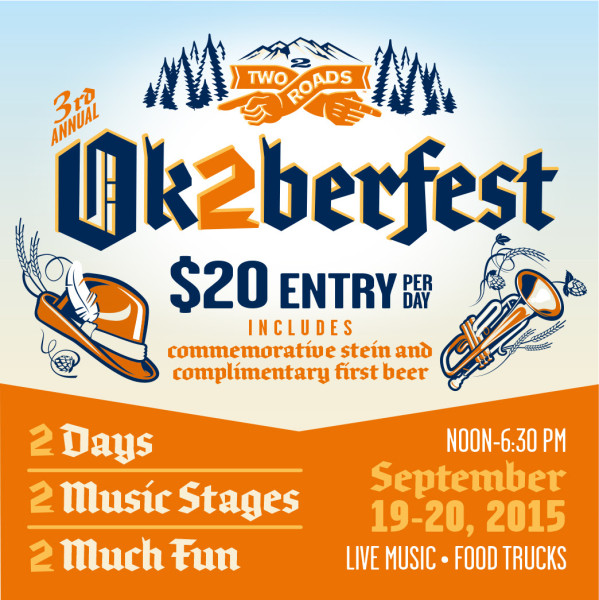 Two Roads Brewing - Ok2berfest 2015