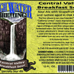 High Water Brewing Presents Central Valley Breakfast Sour