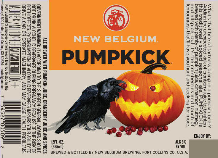 New Belgium Pumpkick