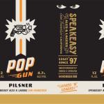 Speakeasy Ales & Lagers Pop Gun Pilsner Debuts This Month