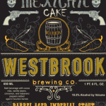 Westbrook Brewing 2015 Barrel-Aged Mexican Cake Release Details