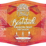 Council Brewing – Passion Fruit Beatitude Now Available