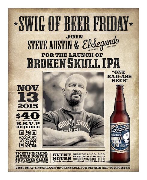 ESBC Swig of Beer Friday