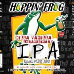Hoppin' Frog Releases Killa Vanilla Extraordinary IPA Friday!