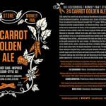 Juli Goldenberg/Monkey Paw/Stone 24 Carrot Golden Ale Debuts Today