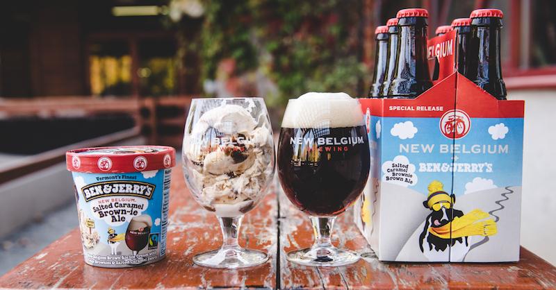 New Belgium Ben and Jerrys Ice Cream Beer