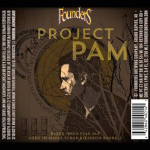 Founders Brewing Project PAM, Third Backstage Series Release of 2015
