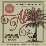 Palmetto Brewing Althea Bottle Release Details