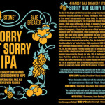 4 Hands / Bale Breaker / Stone Sorry Not Sorry IPA Debuts Today