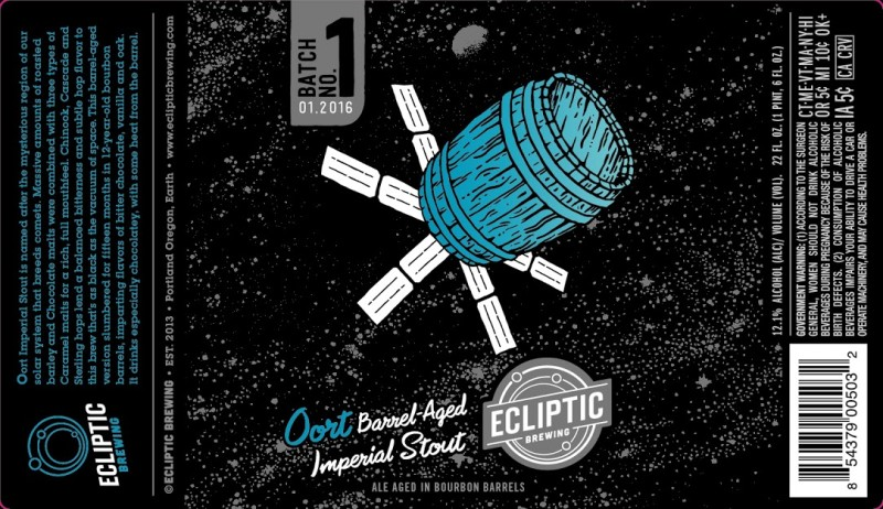 Ecliptic Brewing - Barrel Aged Oort