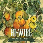 Hi-Wire Brewing Tropical Fruit Golden Strong Ale Debuts This Month