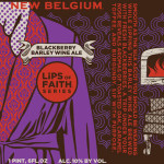 New Belgium Lips of Faith Blackberry Barley Wine, Now Available
