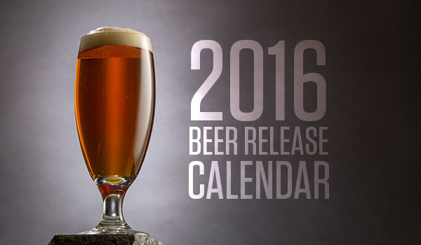 Stone Brewing Co. 2016 Release Calendar